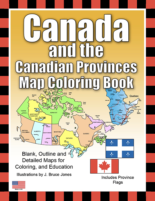 Canada and Canadian Provinces and Territories Coloring Book pdf