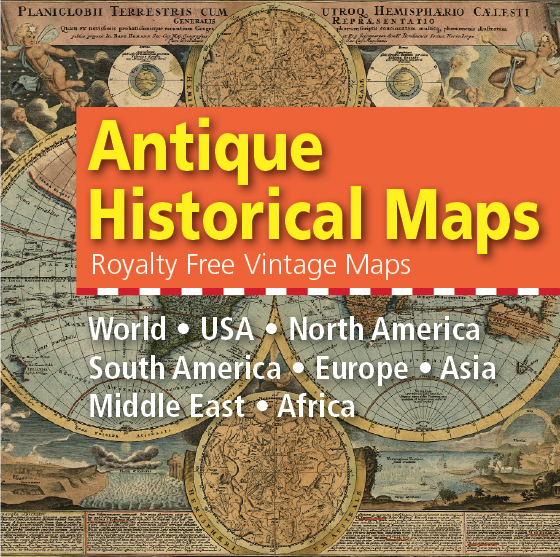 antique historical vintage maps collection cover
