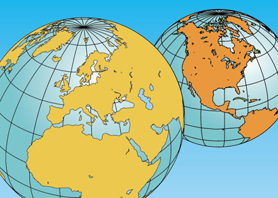 Clip Art Maps World Globes PowerPoint